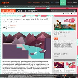 Le développement indépendant de jeu vidéo aux Pays-Bas