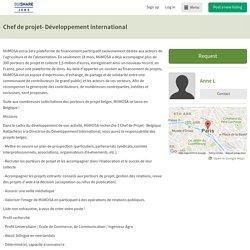 Chef de projet- Développement international - OuiShare Job Board
