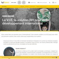 Le V.I.E, la solution RH pour votre développement international