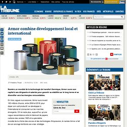 Armor combine développement local et international