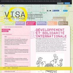 Visa pour le voyage : Développement et solidarité internationale
