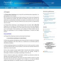 Paradoxes » A l'origine - Association pour la recherche et le développement en Thérapie Brève et Intervention Systémiques (modèle de l'école de Palo Alto)