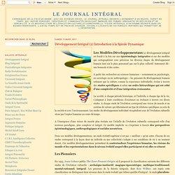 Développement Intégral (2) Introduction à la Spirale Dynamique