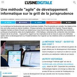 Nouvelle jurisprudence sur un projet Agile (Usine Digitale)