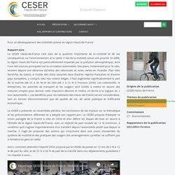 Pour un développement des mobilités actives en région Hauts-de-France