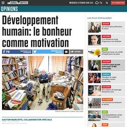 Développement humain: le bonheur comme motivation