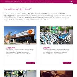 Via-ID, fond de développement pour les nouvelles mobilités