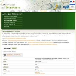 OBSERVATOIRE DES TERRITOIRES 13/06/14 Part et évolution de l'agriculture biologique dans la surface utile agricole.