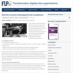 Bien-être au travail et développement des compétencesTransformation digitale des organisations