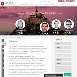 Outsourcing WCF And WPF France