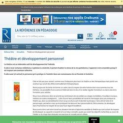 Théâtre et développement personnel