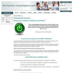 Formation Reussite Pro