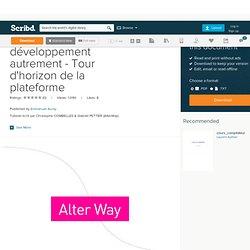 Python : Le développement autrement - Tour d'horizon de la plateforme