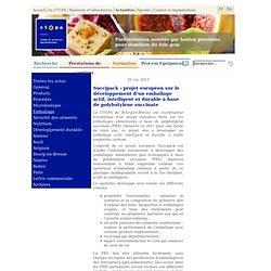 BE France 279 >> 26/03/2013 Projet EMAC : des emballages actifs bientôt sur le marché
