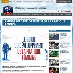 DTN - Le guide du développement de la pratique féminine