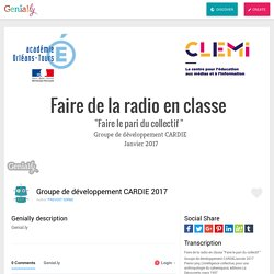 Groupe de développement CARDIE 2017 by PREVOST SORBE on Genially