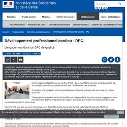 Développement professionnel continu - DPC