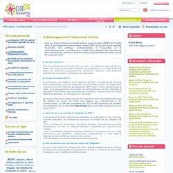PAPS Alsace: Le Développement Professionnel Continu