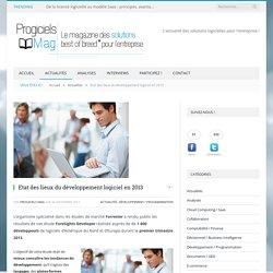 Etat des lieux du développement logiciel en 2013 - Progiciels Mag