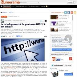 Le développement du protocole HTTP 2.0 est achevé