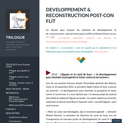 DEVELOPPEMENT & RECONSTRUCTION POST-CONFLIT