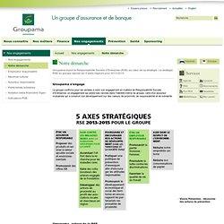 Entreprise sociale & éthique - Développement durable - Responsabilité sociale - Groupama Démarche
