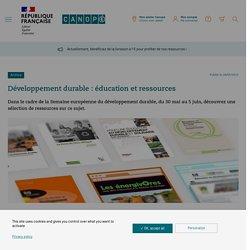 Canopé - PNR : Développement durable