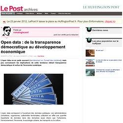 Open data : de la transparence démocratique au développement économique - romaingiscard sur LePost.fr (17:31)