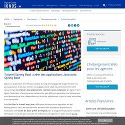 Tutoriel Spring Boot: un développement Java en toute simplicité - IONOS