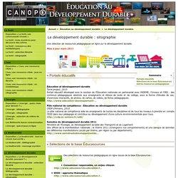 Éducation au développement durable : sitographie
