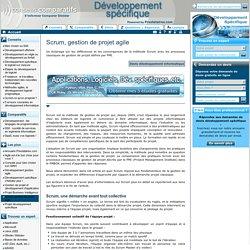 Scrum, gestion de projet agile