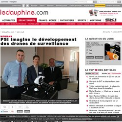 PSI imagine le développement des drones de surveillance