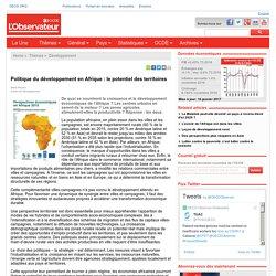 Politique du développement en Afrique : le potentiel des territoires - Observateur OCDE