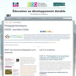 Éducation au développement durable - Pédagogie-thématiques