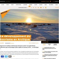 Le développement du tourisme en Arctique