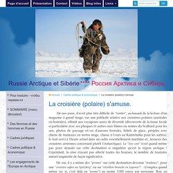 Le développement du tourisme polaire
