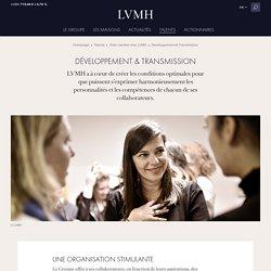 Développement, gestion de carrière, ressources humaines - LVMH