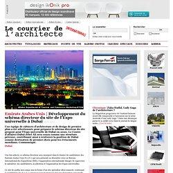 Développement du schéma directeur du site de l'Expo universelle à Dubaï