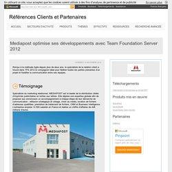 Mediapost optimise ses développements avec Team Foundation Server 2012