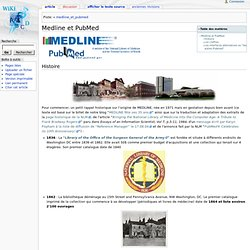 developpements:medline_et_pubmed - BiUM WiKi