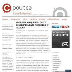 Museomix au Québec, quels développements possibles en région?
