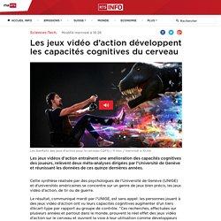 Les jeux vidéo d'action développent les capacités cognitives du cerveau