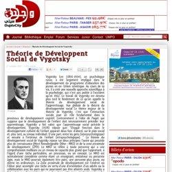 Théorie de Développent Social de Vygotsky