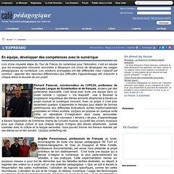 Besançon : En équipe, développer des compétences avec le numérique