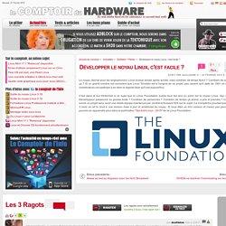 Développer le noyau Linux, c'est facile