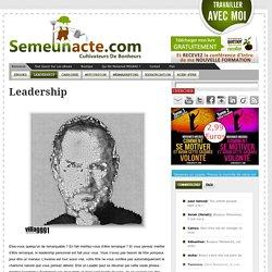 Developper Son Leadership