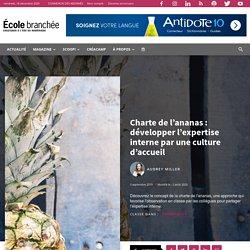 Charte de l'ananas : développer l'expertise interne par une culture d'accueil