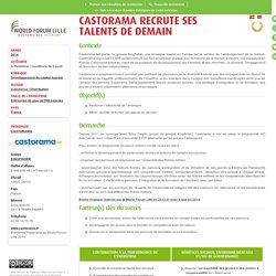 Développer la formation et/ou la promotion - CASTORAMA recrute ses talents de demain