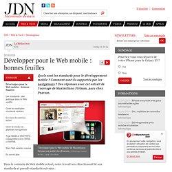Développer pour le Web mobile : bonnes feuilles - Journal du Net Développeurs