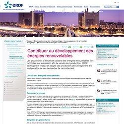 Développer les énergies renouvelables